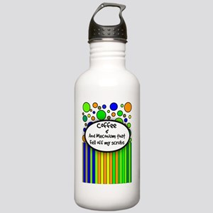 Coffee and Meconium 1 Stainless Water Bottle 1.0L
