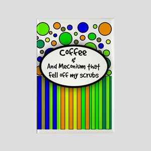 Coffee and Meconium 1 Rectangle Magnet