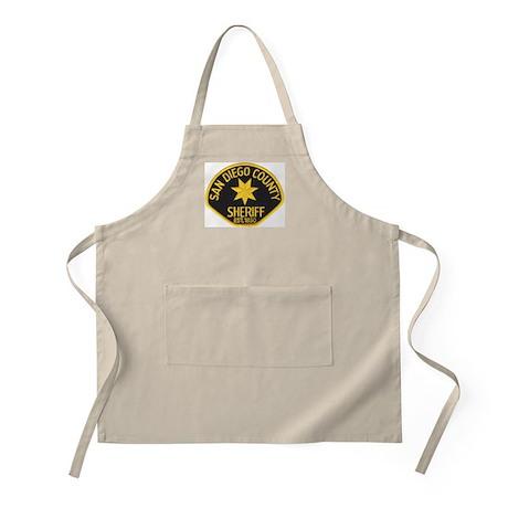 San Diego Sheriff BBQ Apron