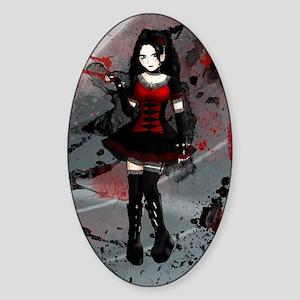 Gothic Lolita Sticker (Oval)