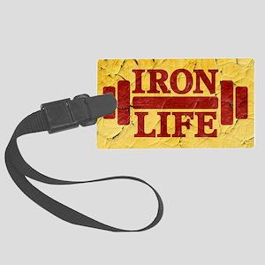 Iron Life Large Luggage Tag