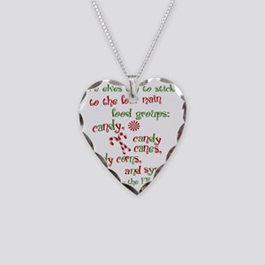 elf1 Necklace Heart Charm