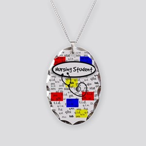NS 6 Necklace Oval Charm