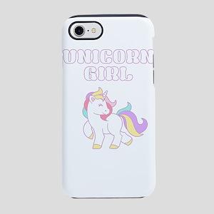 Unicorn Girl iPhone 7 Tough Case