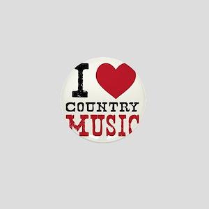 Country Music Mini Button