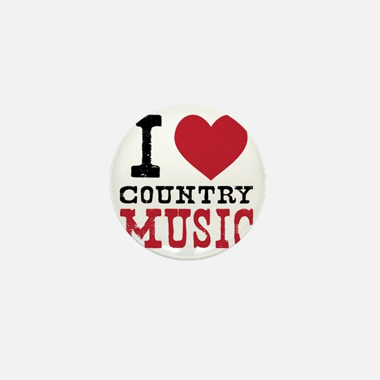Country Music Mini Button