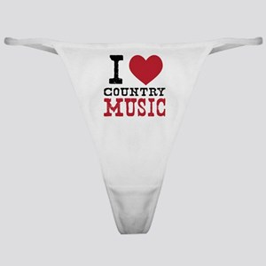Country Music Classic Thong