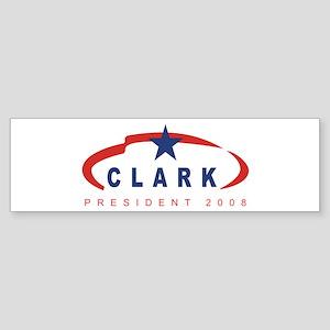 2008 Wesley Clark (star) Bumper Sticker