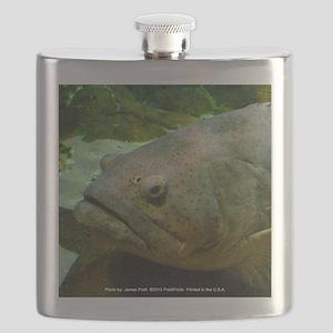 Fish Lips Flask