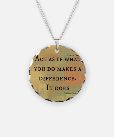 You Make a Difference Necklace