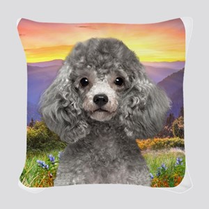 meadow2 Woven Throw Pillow