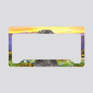 meadow(license)2 License Plate Holder