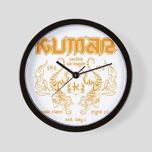Kumar Tigers 1 Wall Clock