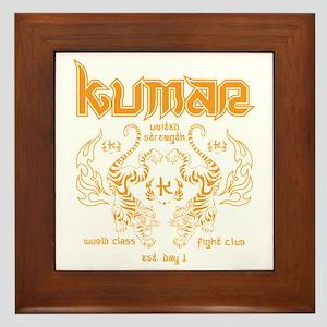 Kumar Tigers 1 Framed Tile