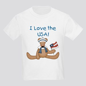 I Love the USA Kids Light T-Shirt