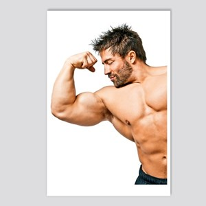 Muscles Postcards (Package of 8)