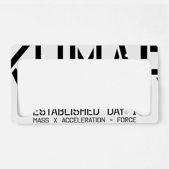 Kumar Stencil 2 License Plate Holder
