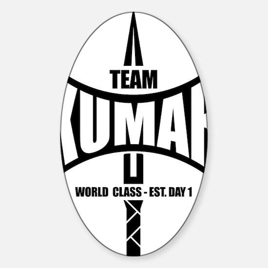 Kumar Axe 1 Sticker (Oval)