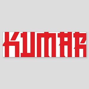 Kumar Asian 1 Sticker (Bumper)