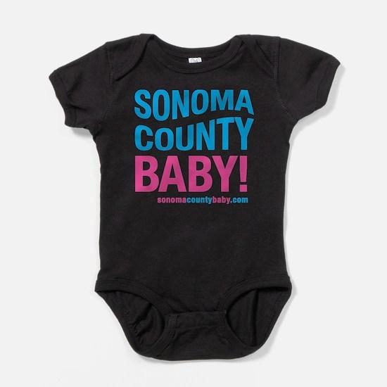 Sonoma County Baby Body Suit