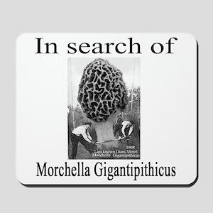 giant morel 1908 Mousepad