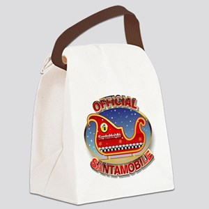 SantaMobile Canvas Lunch Bag