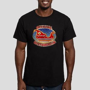 SantaMobile Men's Fitted T-Shirt (dark)