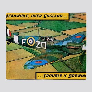 Spitfire - Trouble Brewing! Throw Blanket