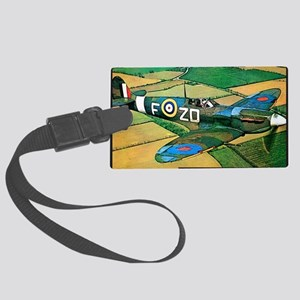 Spitfire - Trouble Brewing! Large Luggage Tag