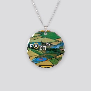 Spitfire - Trouble Brewing! Necklace Circle Charm