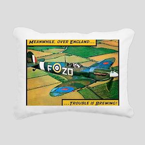 Spitfire - Trouble Brewi Rectangular Canvas Pillow