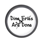 Ding Fries Are Done Wall Clock
