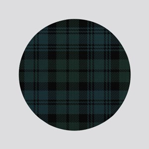 "Campbell Scottish Tartan Plaid 3.5"" Button"
