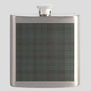 Campbell Scottish Tartan Plaid Flask