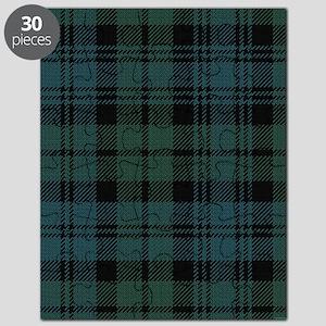 Campbell Scottish Tartan Plaid Puzzle