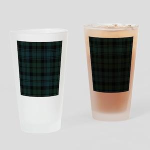 Campbell Scottish Tartan Plaid Drinking Glass