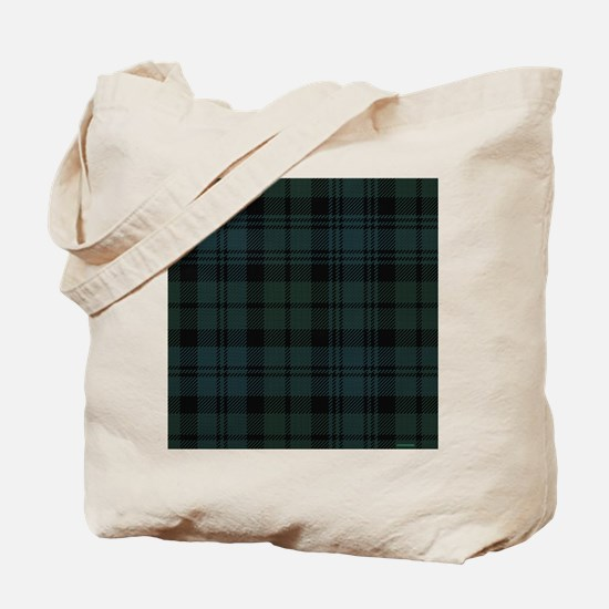 Campbell Scottish Tartan Plaid Tote Bag
