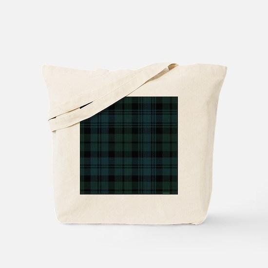 Campbell Scottish Tartan Plaid Tote Bag
