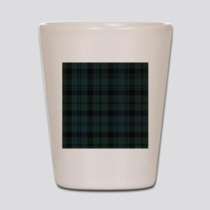 Campbell Scottish Tartan Plaid Shot Glass