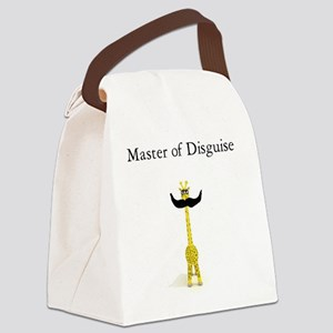 Master of Disguise Canvas Lunch Bag