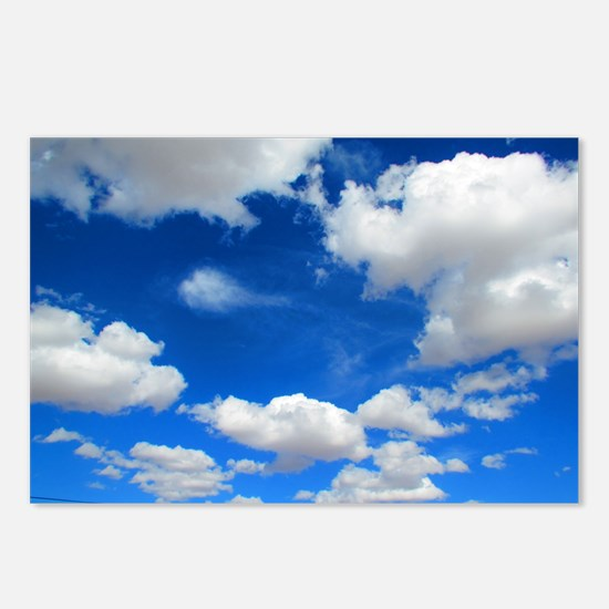 Cloudy Sky Postcards (Package of 8)