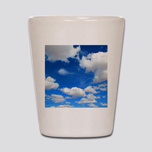 Cloudy Sky Shot Glass
