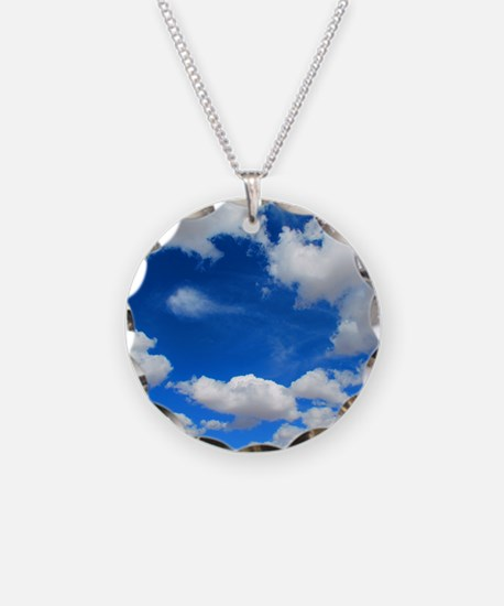 Cloudy Sky Necklace