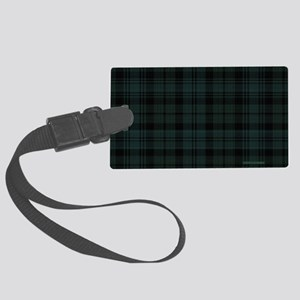 Cameron Ancient Celtic Tartan Large Luggage Tag