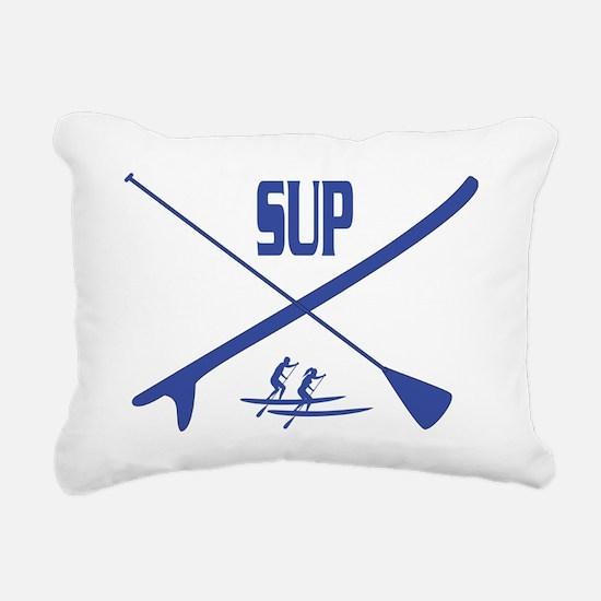 SUP Rectangular Canvas Pillow