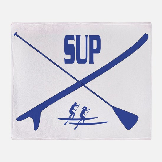SUP Throw Blanket