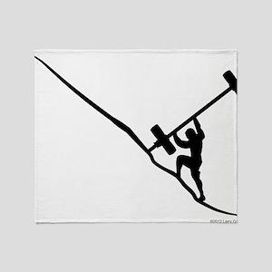 Sisyphus Olympic Tenacity Throw Blanket