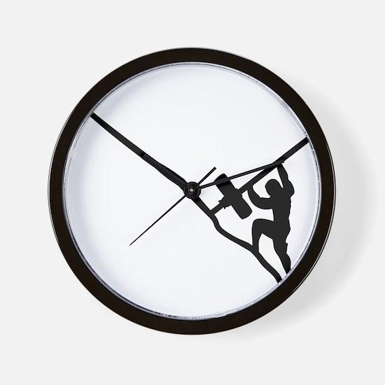 Sisyphus Olympic Tenacity Wall Clock