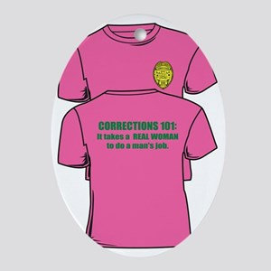 Corrections101tees Oval Ornament