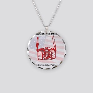 10x10 camera Necklace Circle Charm